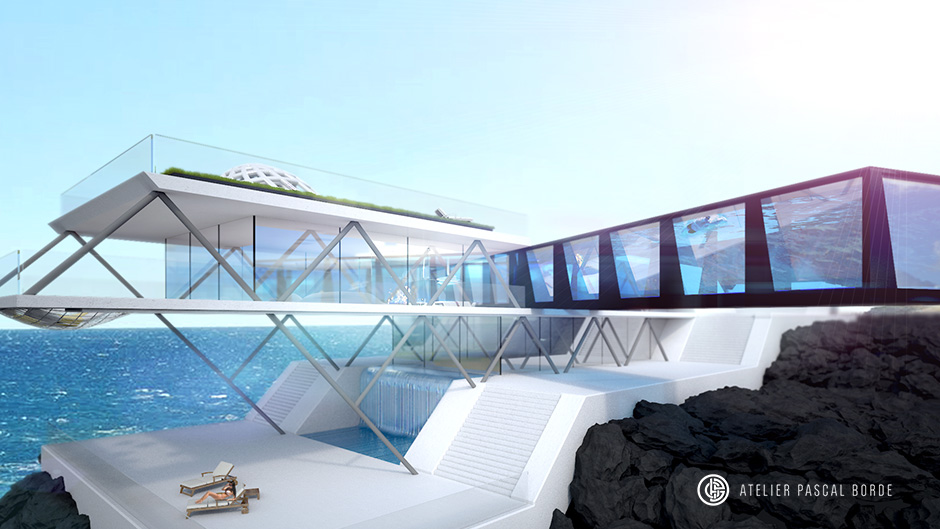 PERSPECTIVES 3D : architecte d'intérieur Pascal Borde