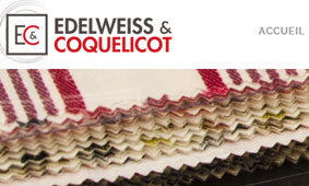 SITE INTERNET : Edelweiss&Coquelicot