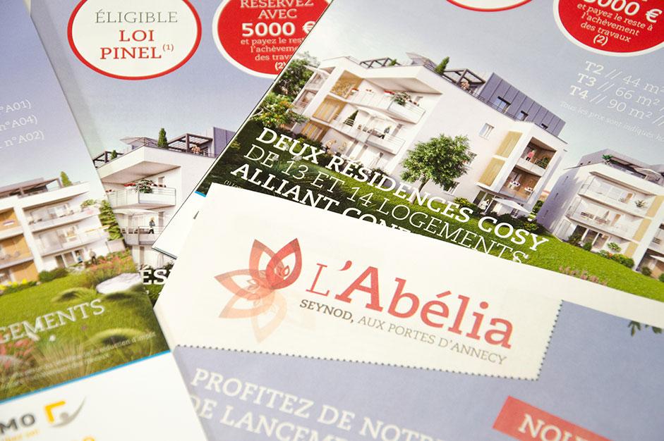 PLAQUETTE COMMERCIALE : L'Abélia