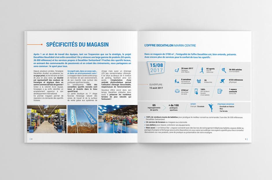 Édition graphique pour Décathlon, Agence de communication, Annecy ... 482e5b4fba4